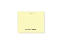 "Picture of 4"" x 3"" 1 Color Post-it® Note"