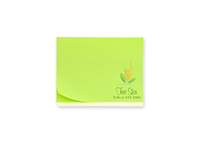 "Picture of 4"" x 3"" Full Color Post-it® Note"