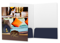 """Picture of 9"""" x 12"""" Full Color Standard Two Pocket Folder"""