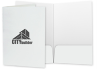 """Picture of 9"""" x 14.5"""" One Color Two Pocket Legal Folder"""