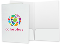 """Picture of 9"""" x 14.5"""" Full Color Two Pocket Legal Folder"""