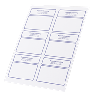 Picture of Mailing Label Sheets
