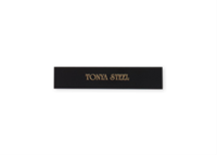 """Picture of Engraved Metal Plate, 1/2"""" x 2 1/2"""""""
