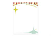 "Picture of 8.5"" x 11"" Full Color Flat Letterhead"