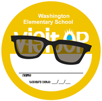 Picture of Visitor Stickers - Shades