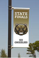 Picture of Light Pole Banner Double Sided