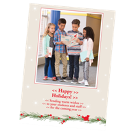 """Picture of 5"""" x 7"""" Holiday Card 1"""