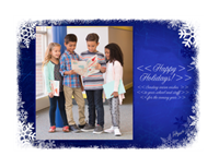 """Picture of 7"""" x 5"""" Holiday Card 4"""