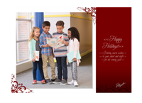 """Picture of 7"""" x 5"""" Holiday Card 3"""