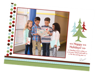 """Picture of 7"""" x 5"""" Holiday Card 2"""