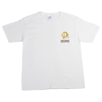 Picture of 100% COTTON YOUTH WHITE T-SHIRT