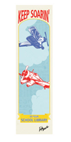 "Picture of 2.25"" x 8.25"" Library Campaign Bookmark"