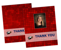 """Picture of 4.25"""" x 5.5"""" Thank You 2 w/Envelopes"""