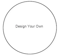 """Picture of 3"""" Round 6-Up Design Your Own Stickers"""