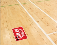 Picture of Floor Graphics w/ Anti Slip Laminate