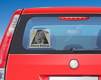 """Picture of 7"""" Square Window Decal"""