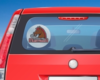 """Picture of 8"""" Circle Window Decal"""