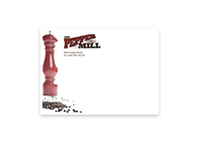 Picture of Printed Full Color Envelope Front Side - A7 (Square-Flap)