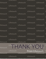 """Picture of 4.25"""" x 5.5"""" Thank You 3 w/Envelopes"""