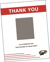 """Picture of 4.25"""" x 5.5"""" Thank You 4 w/ Envelope"""