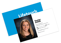 "Picture of 3.5"" x 2"" Business Card With Image  - 16 pt C2S with UV Gloss Coating Front Side"