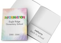 Picture of 9ʺ x 12ʺ Open House Kindergarten Standard Two Pocket Folder