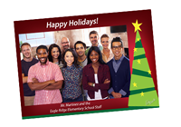 Picture of 7ʺ x 5ʺ Holiday Card 9