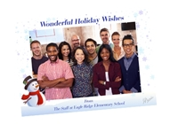 """Picture of 7"""" x 5"""" Holiday Card 12"""