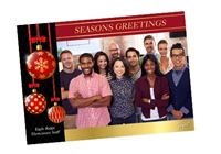"""Picture of 7"""" x 5"""" Holiday Card 10"""