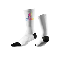 Picture of Full Color Strideline One Press Promo Socks