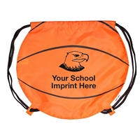 Picture of Gametime!® Basketball Drawstring Backpack