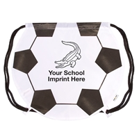 Picture of Gametime!® Soccer Ball Drawstring Backpack