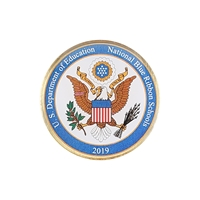Picture of National Blue Ribbon Lapel Pin